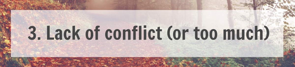 Lack of conflict